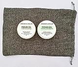 ACEITE DE MONOI (100g) GEL DE MONOI (100g) con ACEITE DE COCO & GARDENIA DE TAHITI - de AMOR FLORUM - Un aceite y un gel natural. CONDICIONAN Y HIDRATAN Piel y cabello. Sin perfume añadido.
