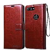 Bracevor Leather Case Flip Cover   Foldable Stand   Wallet Card Slots