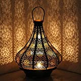 albena shop 71-5240 Jadoo orientalisches Windlicht Laterne 30cm Metall
