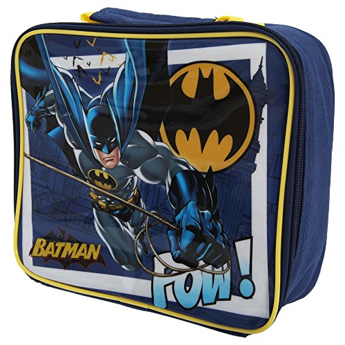 Batman Childrens/Boys Official Lunch Box/Bag