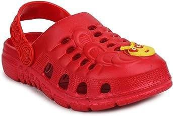 11e Boys & Girls Red Clogs