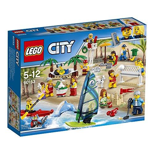Preisvergleich Produktbild LEGO City 60153 - Stadtbewohner – Ein Tag am Strand