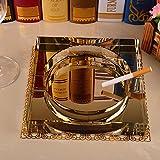 SDKKY Hotel King size KTV cenicero cenicero Salón mesa de café de cristal...