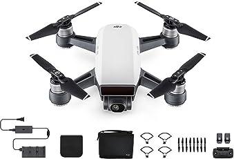 DJI Spark Fly More Combo Selfie Drone - Alpine White