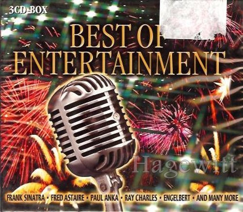 Best Of Entertainment (3 CD-Set feat. Frank Sinatra, Fred Astaire, Paul Anka, Ray Charles a.m.m.)