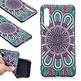 Huawei P20 PRO Hülle, Huawei P20 PRO Handyhüle, Alfort Weich TPU Schutzhülle Fließendes Glitzern und Spiegel Hand Hülle für Huawei P20 PRO (6.1 Zoll) Smartphone Handytasche Case Cover (Mandala)