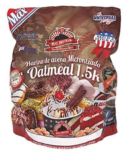 Max Protein Oatmeal Harina Avena - 1500 gr