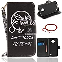 GOCDLJ Motorola Moto E4 Hülle Muster PU Leder Flip Cover Tasche Ledertasche Handytasche Schutzhülle Handyhülle... preisvergleich bei billige-tabletten.eu