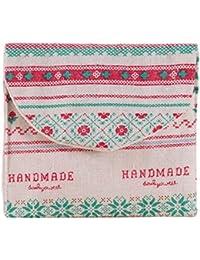 A : Kingko Women Girl Cute Sanitary Pad Organizer Holder Sanitary Pad Portable Storage Bag Napkin Towel Convenience...