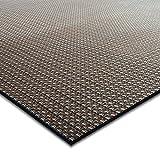 casa pura Design Bodenschutzmatte Modena | Unterlegmatte für Fitnessgeräte | zuverlässiger Bodenschutz | 60x120cm