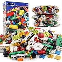 1000 UNIDS/SET Diseño Clásico Niños Niños Ladrillo DIY Bloques de Construcción Juguetes Educativos A Granel Para Niños Regalo de Cumpleaños