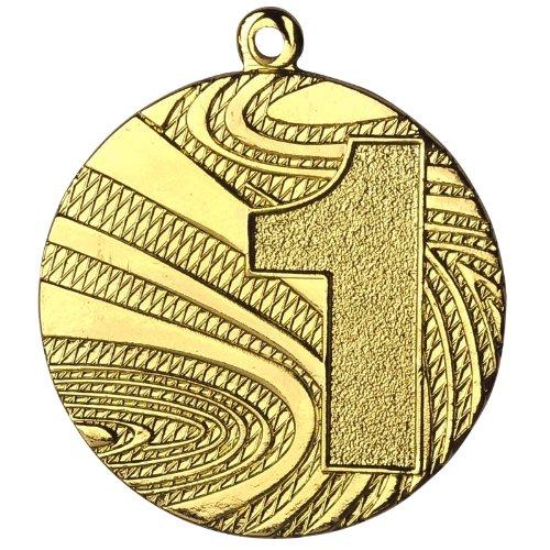 10 Stück Medaille Gold