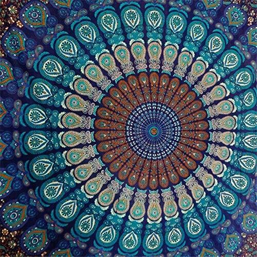 LABAICAI Empfehlen Sie Rechteck Ethnische Muster Strandtuch Yoga Matte Tischdecke 4 Farben (Color : No2, Size : 150cm x 210cm)