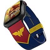DC Comics - Wonder Woman Tactical Edition – Cinturino in silicone con licenza ufficiale compatibile con Apple Watch, adatto a