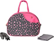 Vouch Diaper Bag with Changing Mat, Pink