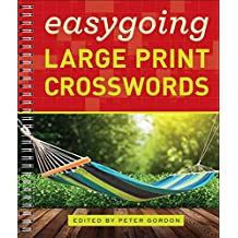 Easygoing Large Print Crosswords