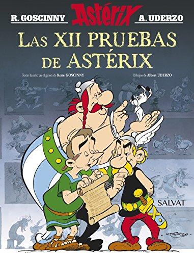 Las XII pruebas de Astérix. Edición 2016 (Castellano - A Partir De 10 Años - Astérix - Especiales) por René Goscinny