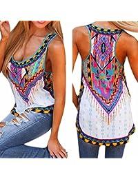 Dewapparel Femmes New Summer Vest Top sans manches Blouse reservoir Casual Tops T-shirt