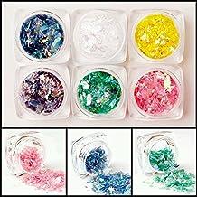 mioblet nuevo set de piezas purpurina brillante para arte y decoracin de uas