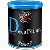 Caffè Vergnano 1882 Lattina Caffè 100% Arabica Macinato Decaffeinato - 1 confezione da 250 gr