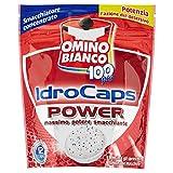 Omino Bianco Idrocaps Power, Smacchiatore Concentrato, 12 Capsule - 240 gr