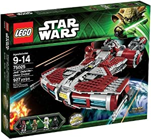 LEGO Star Wars - Corbeta Jedi Clase Defensor - 75025
