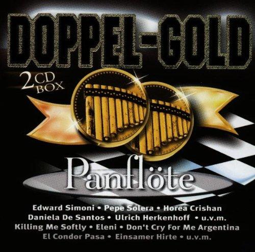 Doppel Gold Pan-Flöte