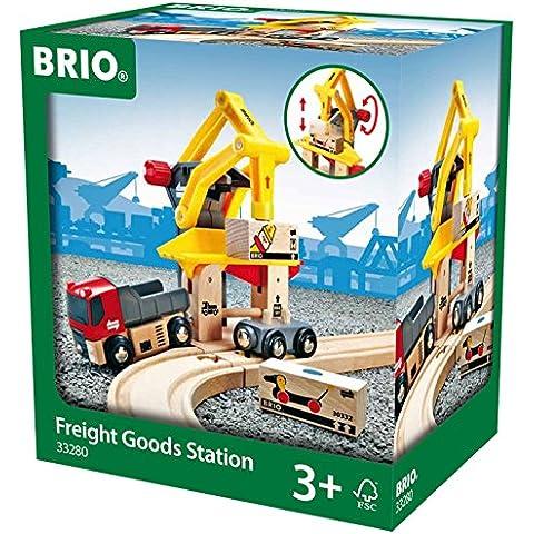 Brio 33280 - Grúa de carga de mercancías para vías de tren Brio [importado de Alemania]