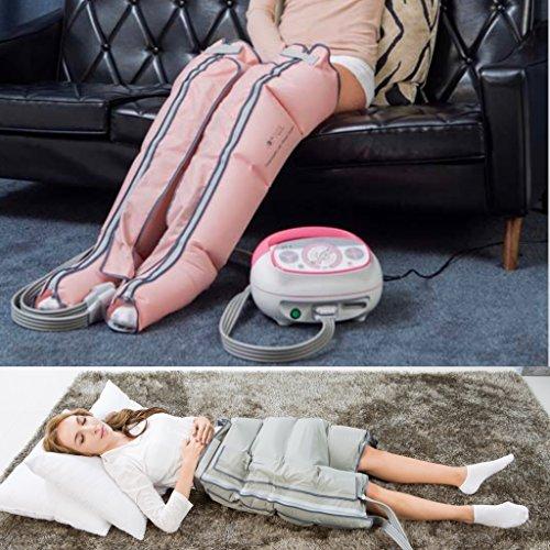 Preisvergleich Produktbild LYMPHSANTE Q2200 - Massage für Beine,  Po,  Bauch - Anschluss von 3 Manschetten gleichzeitig - 4 Luftkissen - 4 Programme. Heimgerät zur Lymphdrainage mit Zeitersparnis
