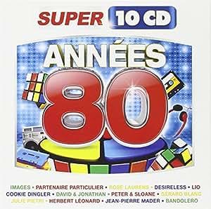 annees 39 80 super 10 cd by vari annees 39 80 vari annees 39 80 musique. Black Bedroom Furniture Sets. Home Design Ideas