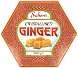 Crystallised Ginger by Sultans 200g - one box