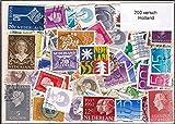 200 verschiedene Briefmarken 'Holland' |Briefmarken |gestempelt |verschiedene Motive
