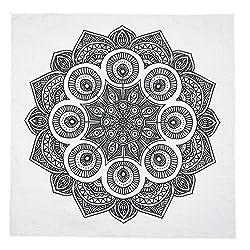 Mandala print colour in bandana