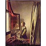 Art Panel - Girls at the open window by Vermeer