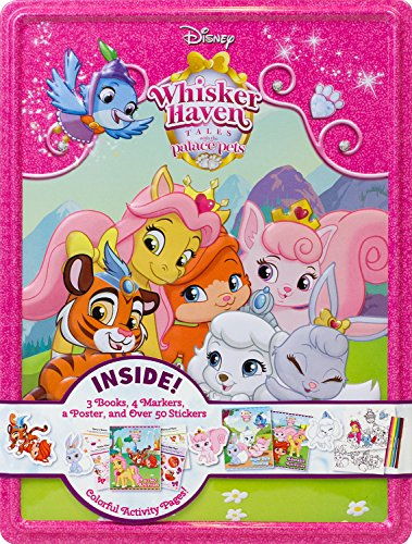Disney Whisker Haven Collector's Tin (Whisker Haven: Tales with The Palace Pets)