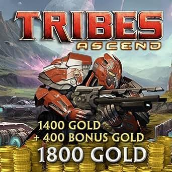 1800 Tribes Gold (1400 Gold plus 400 Bonus Gold) für Tribes: Ascend (Nur für PC. Nicht für Xbox One.) [Online Code]