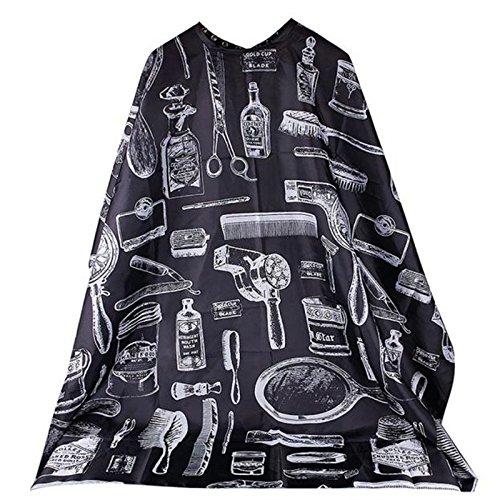Style & Co. Manteau de Cheveux Coupe modèle imperméable à l'eau Salon de Coiffure Tissu Couche de Coiffure Tablier de Coiffure Couches de Coupe