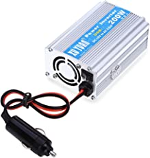 Zorbes 200W DC 12V to AC 220V Car Power Inverter with USB Charging Port