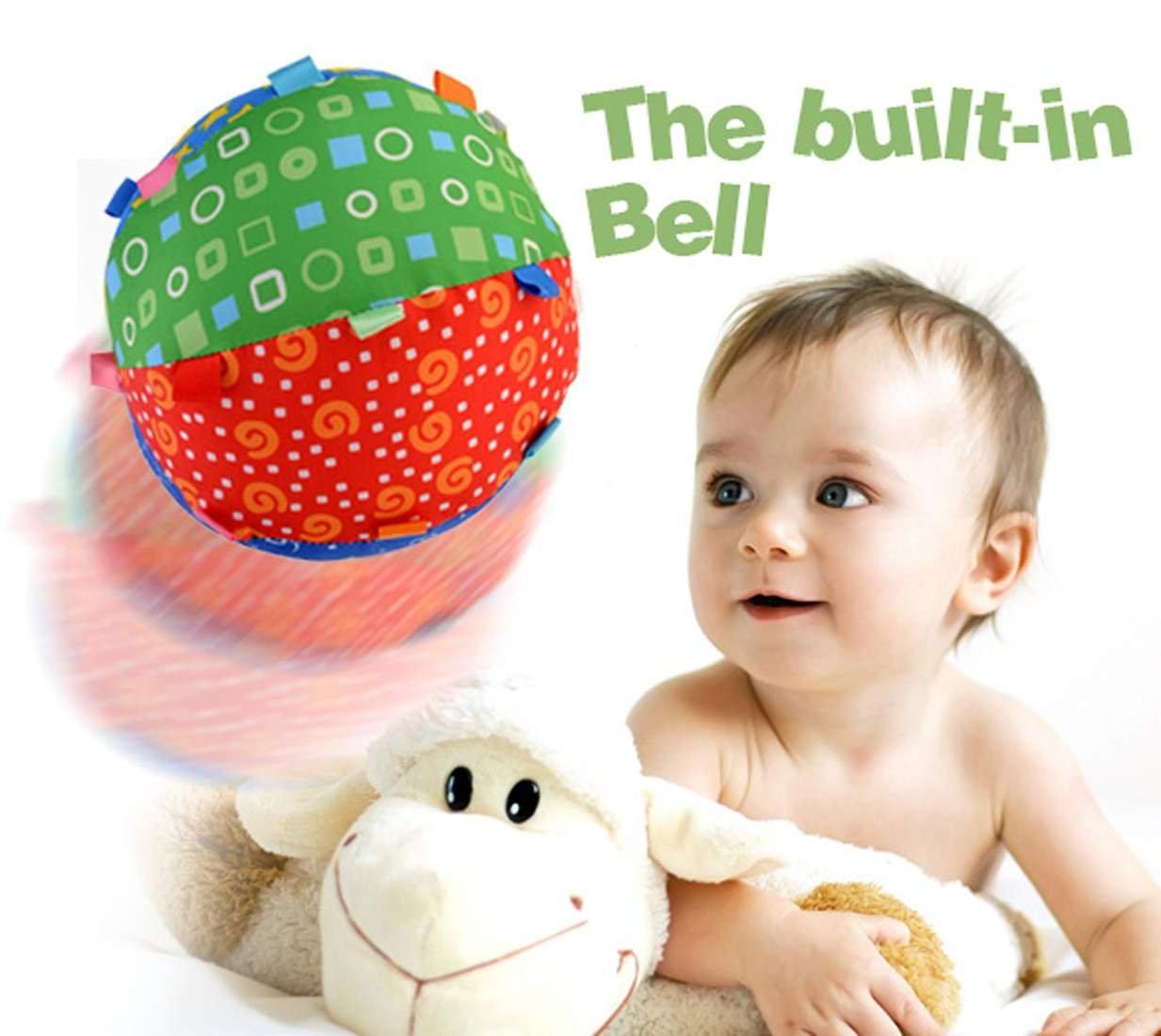 Baby Toys Development Toy Bell Ring Ball Educational Sensory Sport Ball