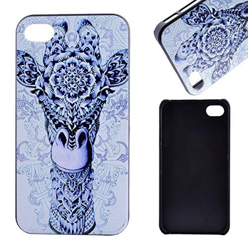 MOONCASE Etui pour iPhone 4G / 4S Hard House Case Coque Cover Étui Shell Mi10 Mi01 #1122
