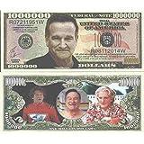 Novelty Dollar Robin Williams Commemorative Million Dollar Bills x 4 Actor Mork Mrs Doubtfire
