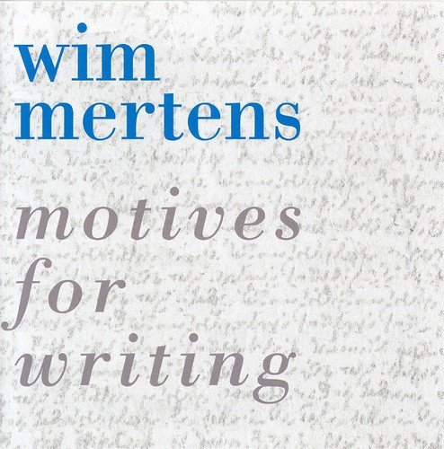 Motive Cd (Motives for Writing)