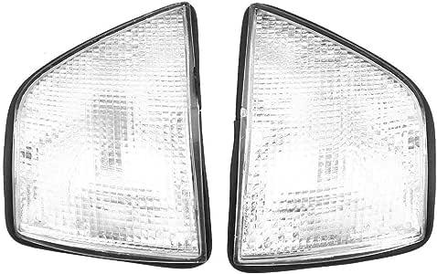 Indicatore di Direzione Angolo,Coppia di copri luce angolare per 3 Serie 318i 325i E36 4DR Berlina e vagone 92-98