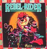 Bandana Motorradtuch Mundtuch Halstuch Kopftuch Rebel Orange schwarz