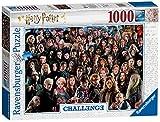 Ravensburger 14988 Harry Potter- Challenge Puzzle-1000 Teile, Mehrfarbig