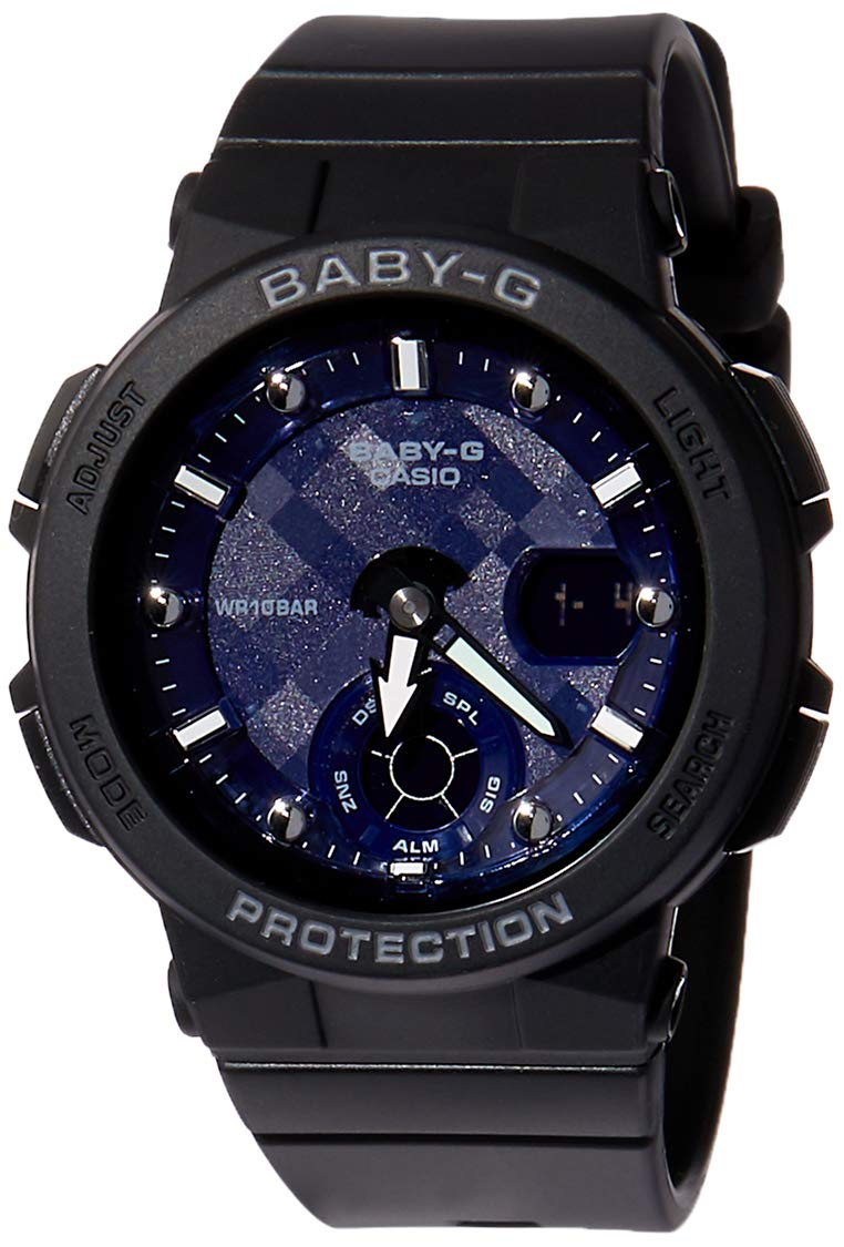 Casio Baby-g Analog-Digital Black Dial Women's Watch – BGA-250-1ADR (BX120)