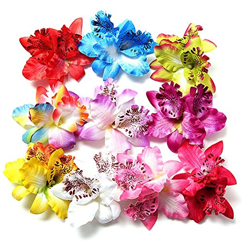hugestore-10-pcs-flor-orqudea-leopardo-Hair-Clips-Hairclip-pelo-pins-playa-Flor-Nupcial-para-Boda-Fiesta