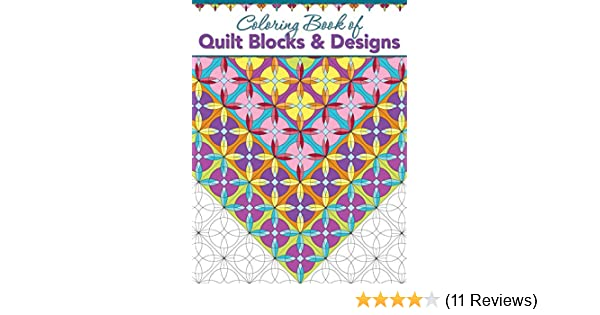 Coloring Book Of Quilt Blocks Designs Landauer 29 Individual Blocks And 29 Full Quilts To Color Each Inspired By Classic Designs Experiment With Color Variations Without Risking Your Fabrics Amazon Co Uk Landauer