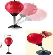 Desktop Punch Ball Home / Büro Stress Beater Mini Stick-on Stanztasche Stanzkugel