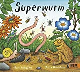 Superwurm: Vierfarbiges Pappbilderbuch